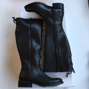 Steve Madden tall black boots